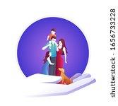 family insurance serves family  ... | Shutterstock .eps vector #1656733228