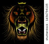 The Vector Logo Lion For Tattoo ...