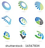 logos and graphic design... | Shutterstock .eps vector #16567834
