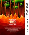 Polygonal Fire In The Forest...