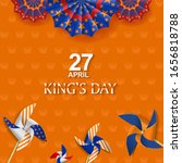 King's Day Celebrate Vector...