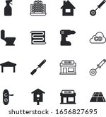 house vector icon set such as ... | Shutterstock .eps vector #1656827695