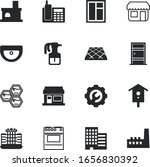 House Vector Icon Set Such As ...