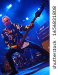 Small photo of Berlin, Berlin / GERMANY - January 28 2020: Wayward Sons rock band from UK is playing a concert in Berlin in Germany.