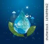 world water day   save the... | Shutterstock .eps vector #1656898462
