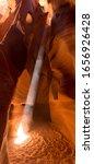 Lightbeam At Antelope Canyon X