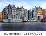 Picturesque Canal Houses And...