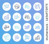 business icon set and get...