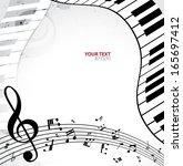 music background | Shutterstock .eps vector #165697412