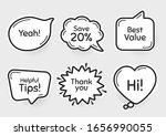 comic chat bubbles. best value  ...   Shutterstock .eps vector #1656990055