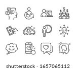 set of people icons  such as... | Shutterstock . vector #1657065112