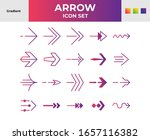 direction arrows icons set....