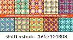 collection of patterns with...   Shutterstock .eps vector #1657124308
