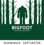 Mysterious Creature Bigfoot In...