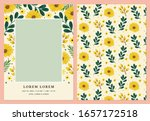 photo card vector template for... | Shutterstock .eps vector #1657172518