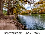 beautiful outdoor fall foliage... | Shutterstock . vector #165727592