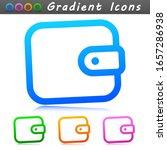 vector wallet sign symbol icon