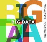 big data   vector abstract...   Shutterstock .eps vector #165729806