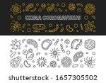 china coronavirus concept...   Shutterstock .eps vector #1657305502