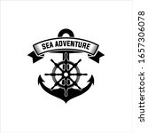 nautical logos templates.... | Shutterstock .eps vector #1657306078