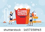 professional cleaning service ... | Shutterstock .eps vector #1657358965