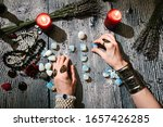 Fortuneteller\'s Hands With...