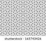 Stock vector ornamental pattern arabic seamless pattern moroccan background 165743426
