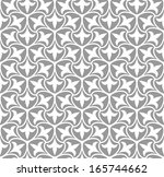 ornamental seamless pattern.... | Shutterstock .eps vector #165744662