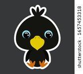 children's sticker of cute...   Shutterstock .eps vector #1657453318