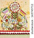 Постер, плакат: Flowers interior original art