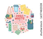zero waste starter kit design.... | Shutterstock .eps vector #1657482028