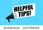 megaphone   helpful tips.... | Shutterstock .eps vector #1657506352