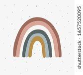 scandinavian reinbow for girl's ...   Shutterstock .eps vector #1657520095