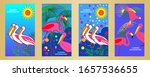 designs templates of summer...   Shutterstock .eps vector #1657536655