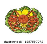 Snow Crab With Lemon And...