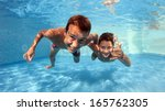 Underwater Brothers Portrait I...