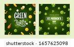 set of background designs for... | Shutterstock .eps vector #1657625098