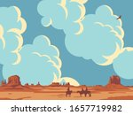 Vector Landscape With Wild...