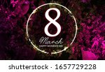 3d illustration  8 march women...   Shutterstock . vector #1657729228