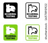 """no animal testing"" cruelty... | Shutterstock .eps vector #1657893922"