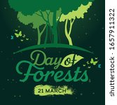 international day of forests... | Shutterstock .eps vector #1657911322