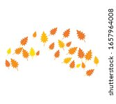 Autumn Background Logo Template ...