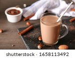 Flavored Cocoa With Nuts And...