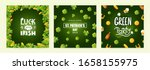 set of background designs for... | Shutterstock .eps vector #1658155975