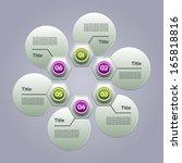 vector progress background  ... | Shutterstock .eps vector #165818816
