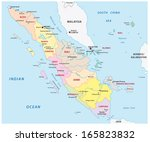 aceh,administrative,banda,border,borneo,indian,indonesia,island,java,kalimantan,malacca,malaysia,map,medan,nias