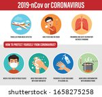 vector of coronavirus or covid... | Shutterstock .eps vector #1658275258
