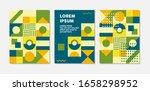 retro swiss graphic modernism ... | Shutterstock .eps vector #1658298952