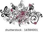 vine splatter | Shutterstock . vector #16584001