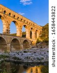 Aqueduct Pont Du Gard  ...